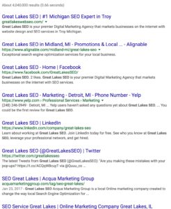 great lakes seo
